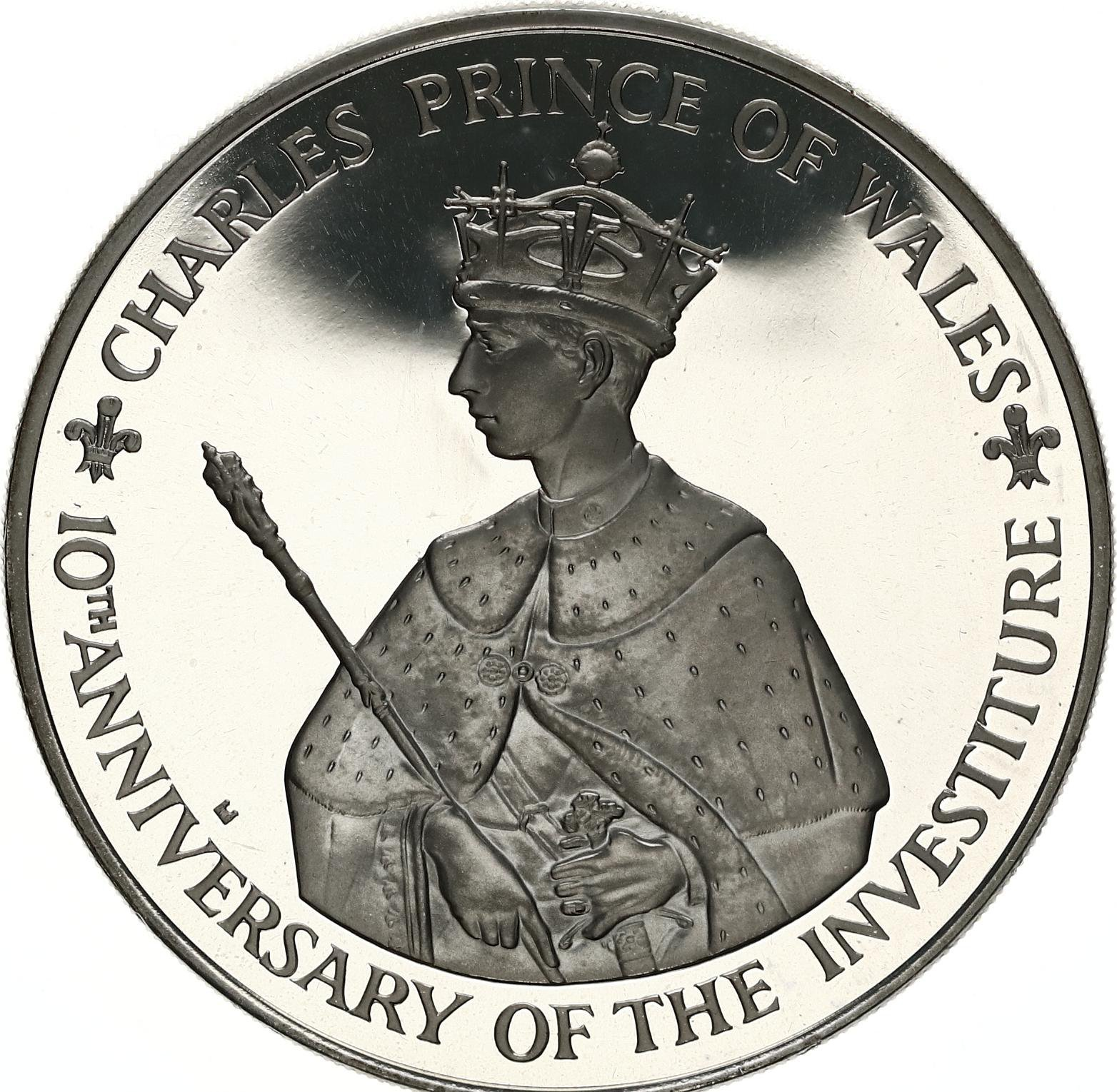 prince charles investiture coin